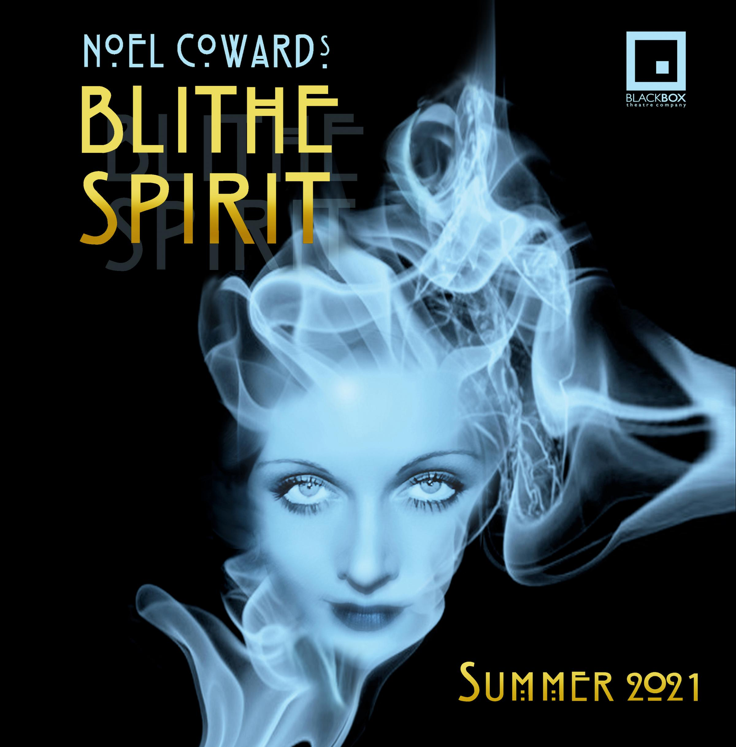 Blithe Spirit - open air theatre at Beech Hurst Park