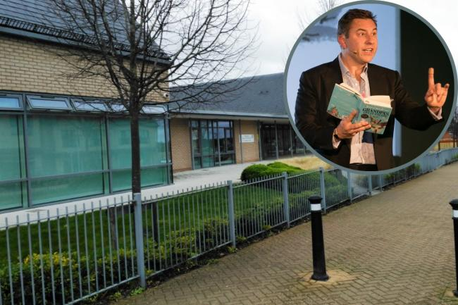 Endeavour Primary School pupils quizzed David Walliams on his inspiration