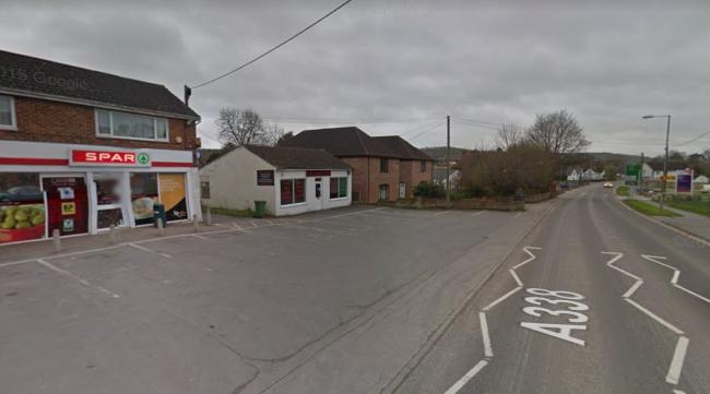 Spar on Pennings Road, Tidworth - Picture from Google Street View