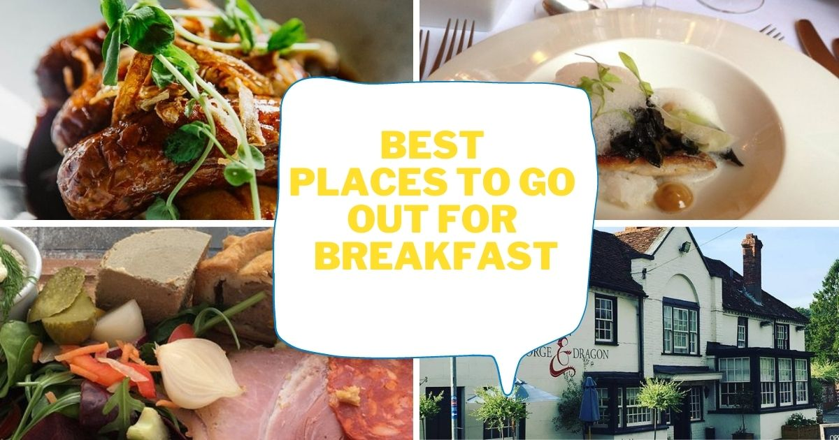 Best places in Andover to go out for breakfast this weekend