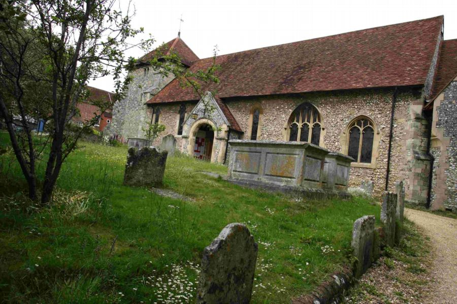 St Bartholmew's church in Hyde