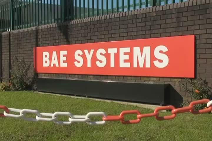 £32m contract for BAE with the MoD