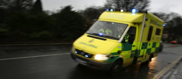 One patient taken to hospital after two seperate road collisions on M3