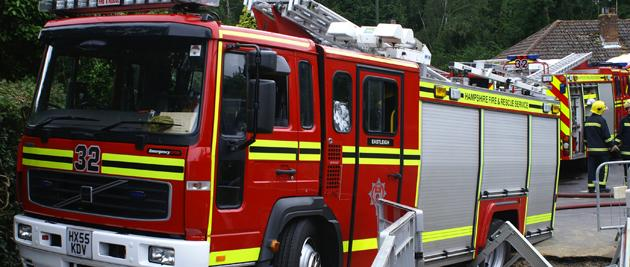 Fire destroys three cars in Whitchurch