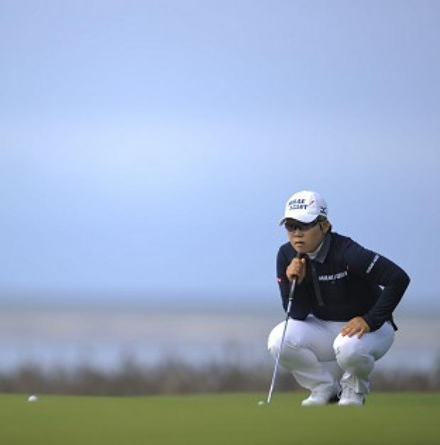 Jiyai Shin leads the Women's British Open by five strokes