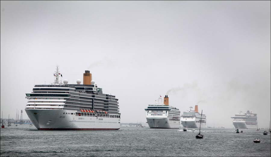 City looking forward to bumper years for cruise ships