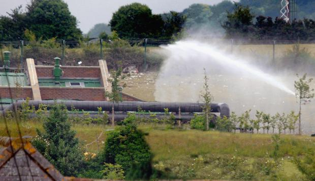 Andover Advertiser: The scene of the explosion in 2006