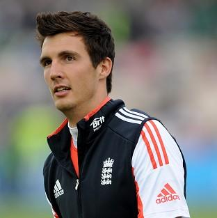 England seamer Steven Finn is unlikely to play any further part on the first day