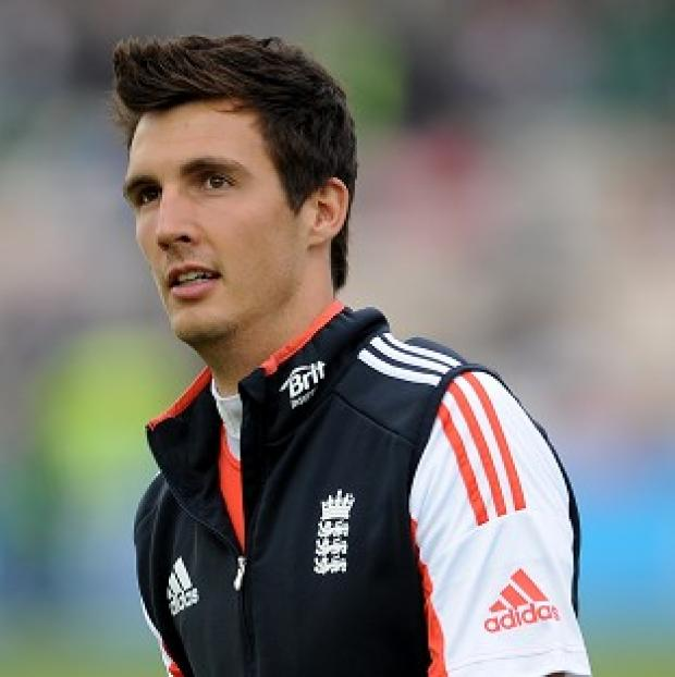 Andover Advertiser: England seamer Steven Finn is unlikely to play any further part on the first day