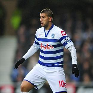 Adel Taarabt, pictured, is happy at QPR, according to his manager Mark Hughes