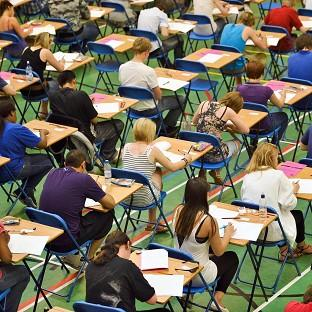 The average reading age required for a GCSE exam paper is 15 years and seven months, according to a study