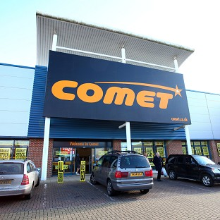 Deloitte warned on Saturday that up to 41 Comet stores may have to close before the end of this month