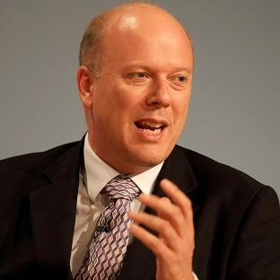 Justice Secretary Chris Grayling is calling for an