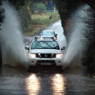 Downpours cause widespread chaos