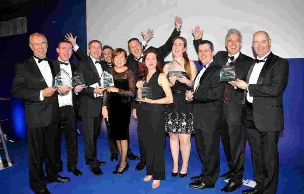 Andover Advertiser: Some of the winners of the INSPIRE12 Business Awards winners