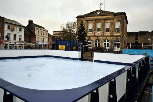 Rink is ready for ice skaters