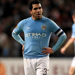 Andover Advertiser: Manchester City's Carlos Tevez has received an interim ban from driving over failing to provide information when clocked for speeding