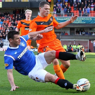 Rangers will tackle Dundee United in the fifth round of the William Hill Scottish Cup
