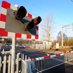 Andover Advertiser: Two women and a child were in a car that was in collision with a train on a South Yorkshire level crossing