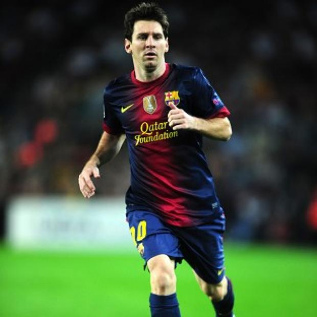 Lionel Messi, pictured, broke Gerd Muller's record of 85 goals in a calendar year on Sunday night