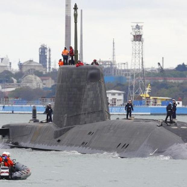 Andover Advertiser: HMS Astute is undergoing sea trials