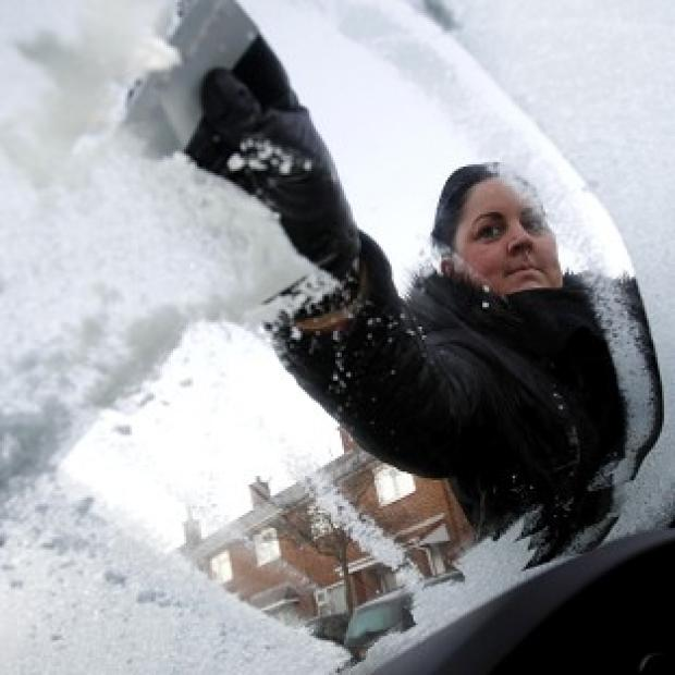 Overnight temperatures dropped to as low as minus 10C in some parts of the UK