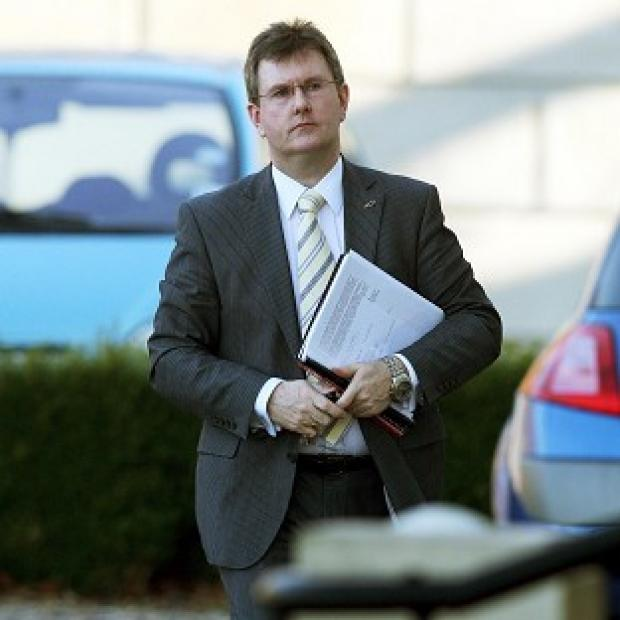Jeffrey Donaldson said 'it is beyond belief that people would target my wife and children in this way'