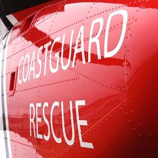 Hartlepool's Coastguard team launched a search and rescue operation after an angler was swept away in a fast-flowing stream