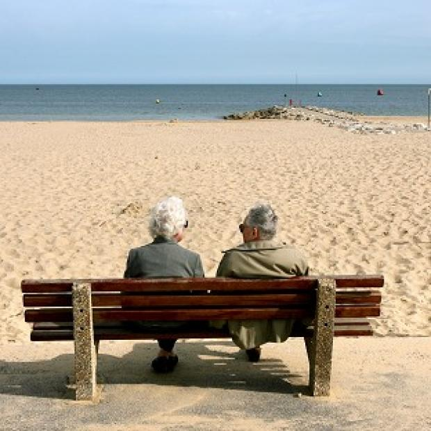 The ONS has found most men are living until they are 85, and women to 89