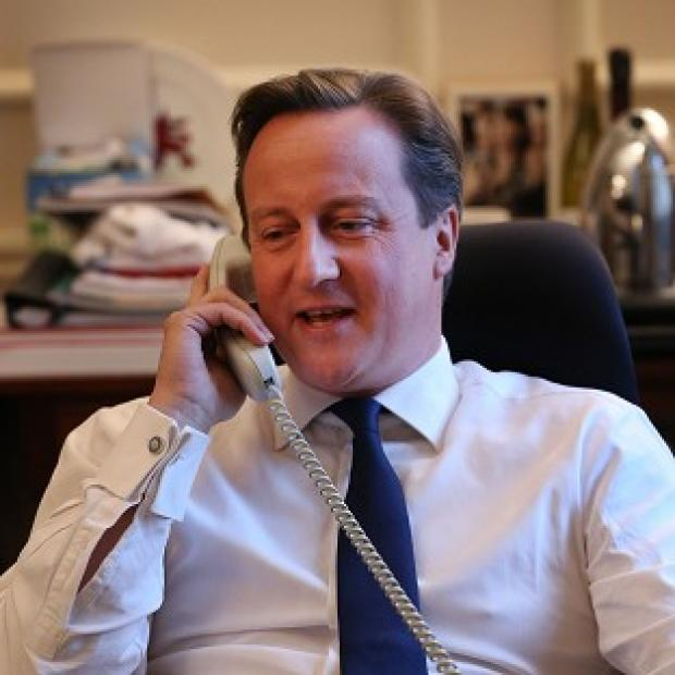 David Cameron and Barack Obama agreed that the plan for all combat troops to leave by the end of 2014 was 'on track'