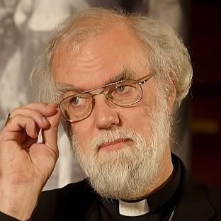 Rowan Williams warned Britain had 'better not be complacent' about the gang-related gun and knife crime affecting its own y