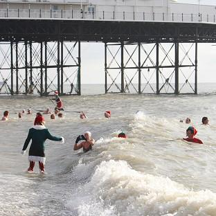 The annual Christmas Day Swim at Brighton Swimming Club has been cancelled