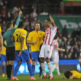 Stoke have appealed Steven N'Zonzi's red card