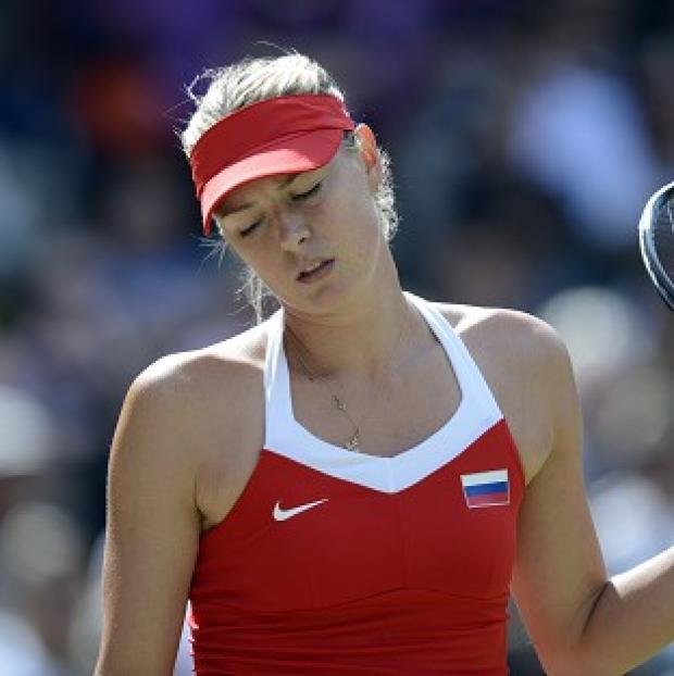 Maria Sharapova bids to overcome a collarbone injury for the Australian Open