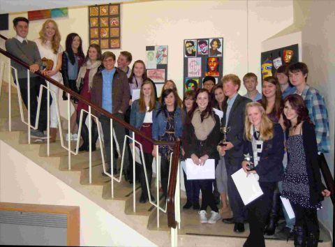Test Valley School pupils celebrate GCSE success at their annual presentation evening
