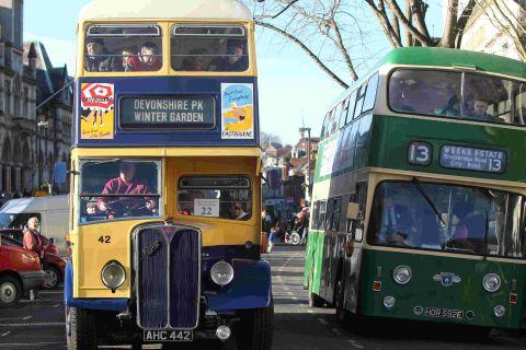 Bygone era evoked in bus running day in Winchester