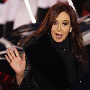 Argentine president Cristina Fernandez de Kirchner reignited the row over the Falkland Islands