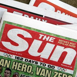 The Sun's advert was published in an English-language paper in Argentina