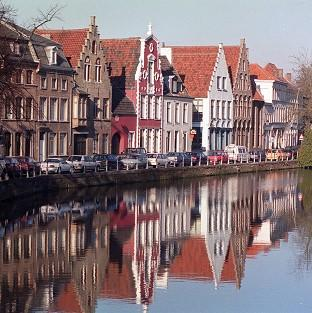 A British couple visiting Bruges in Belgium are in intensive care after they were hit by a car