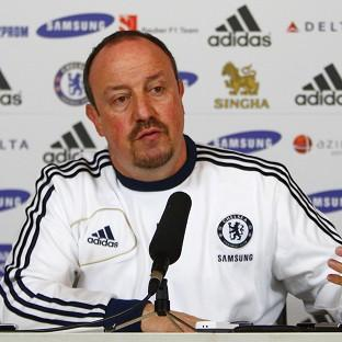 Boss Rafael Benitez, pictured, insists Demba Ba will slot in well alongside Fernando Torres