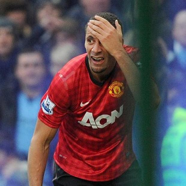 Rio Ferdinand was hit by a coin during the ill-tempered Manchester derby last month
