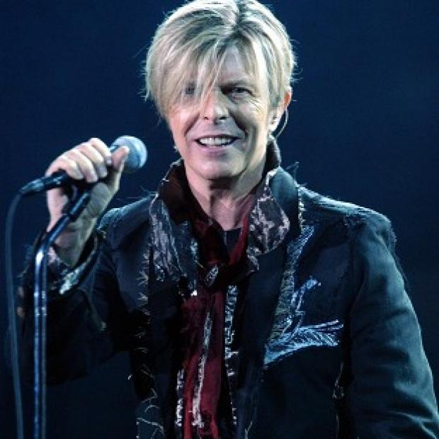 David Bowie, who has released his first single in 10 years, performing at Wembley Arena