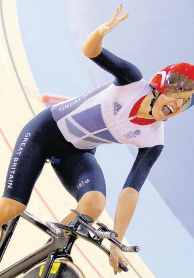 Gold medal-winning Dani King.