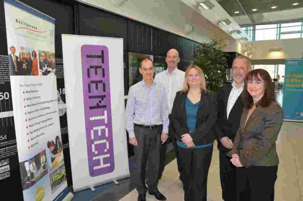 Andover Advertiser: The team behind TeenTech