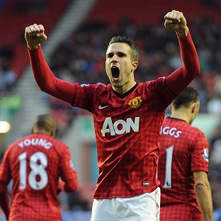 Denis Law is confident Robin van Persie, pictured, and Wayne Rooney will fire Manchester United to glory this season