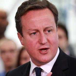 David Cameron said Britain 'is never going to join the single currency'