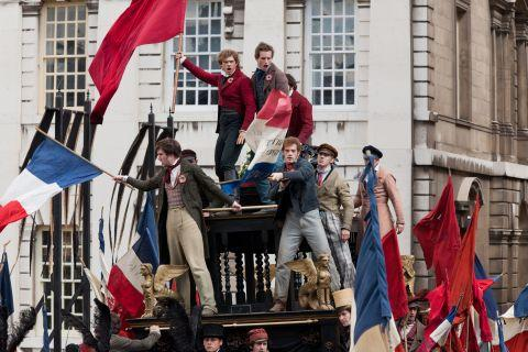 A scene from Tom Hooper's new features film Les Miserables, parts of which were filmed in Hampshire