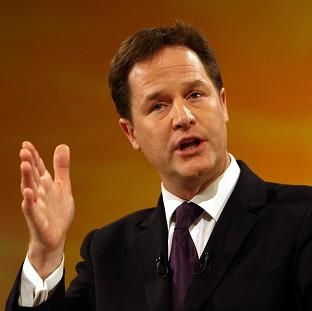 Andover Advertiser: Nick Clegg warned that Britain should not 'do anything to jeopardise our leadership' in Europe