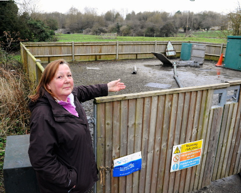 Flood of complaints as sewage pipes overflow