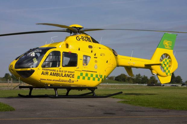 Andover Advertiser: Air ambulance support